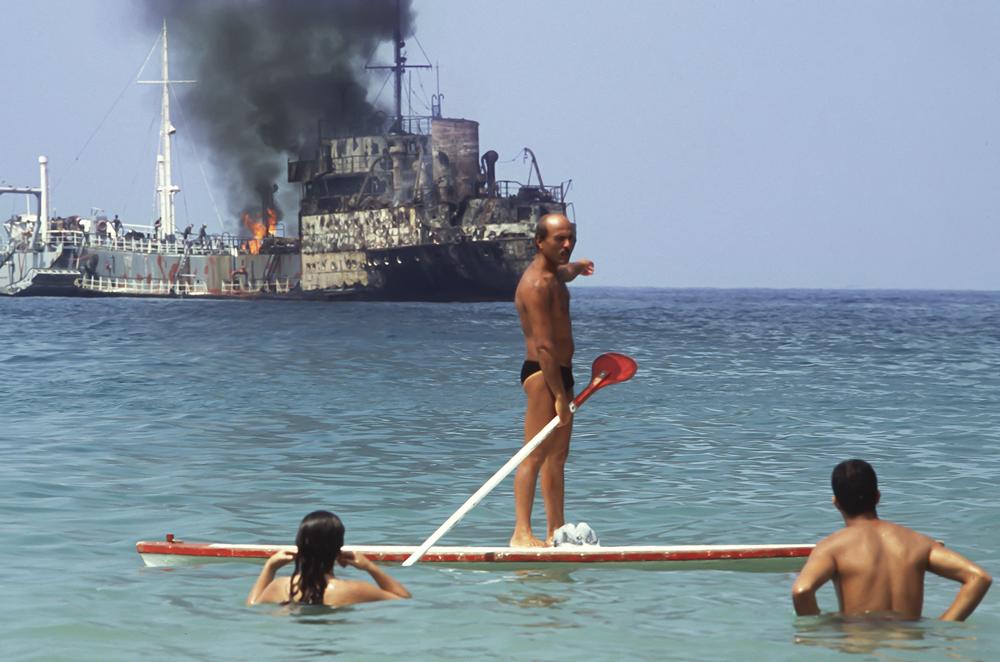 Beirut, sinking ship
