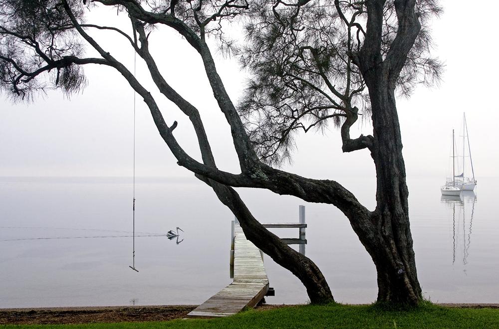 Mist on Lake Macquarie