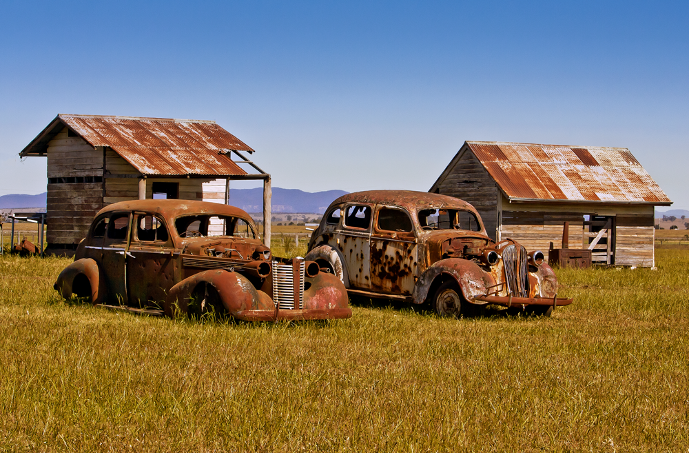Rust in the Hunter Valley