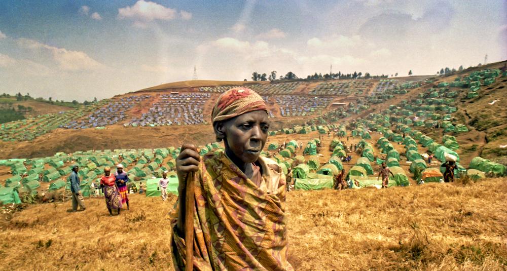Rwanda, Cyangugu refugee camp